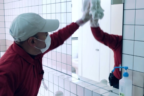 病院清掃部